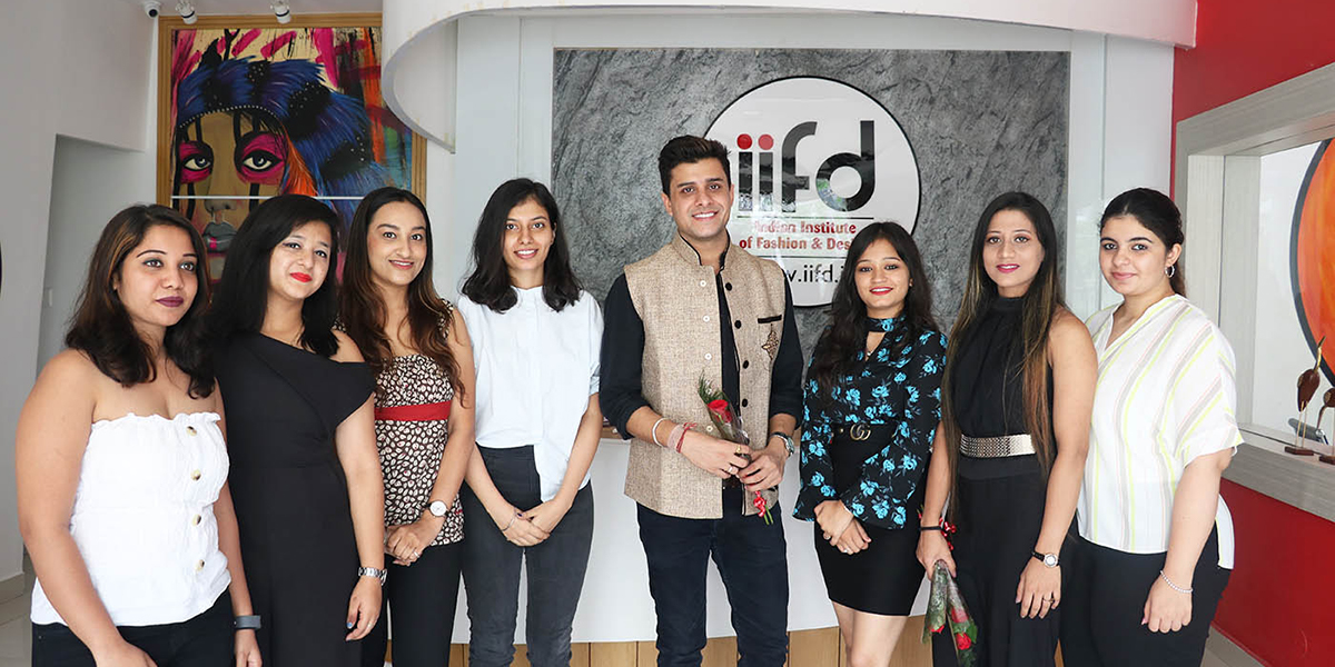 Celebrity Visits at IIFD Campus