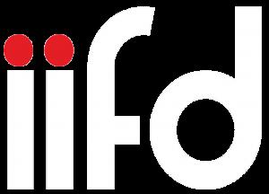 IIFD logo white