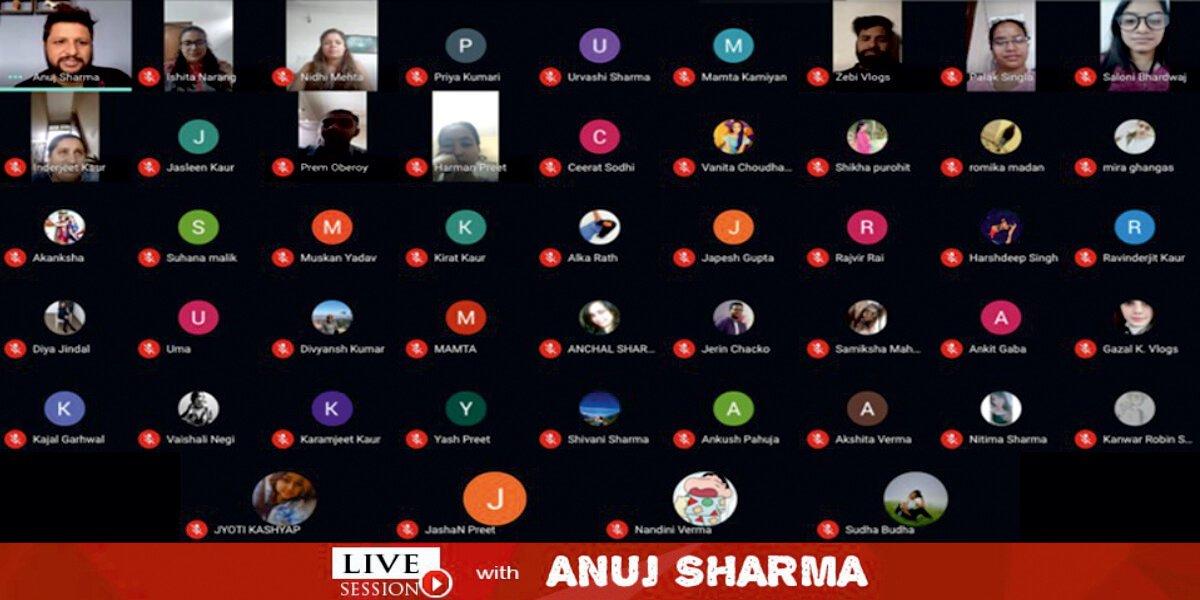 IIFD Talks With Anuj Sharma