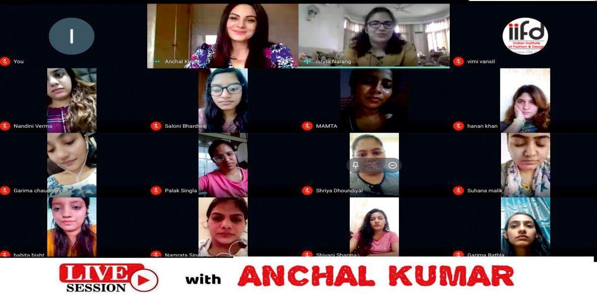 IIFD Talks With Anchal Kumar