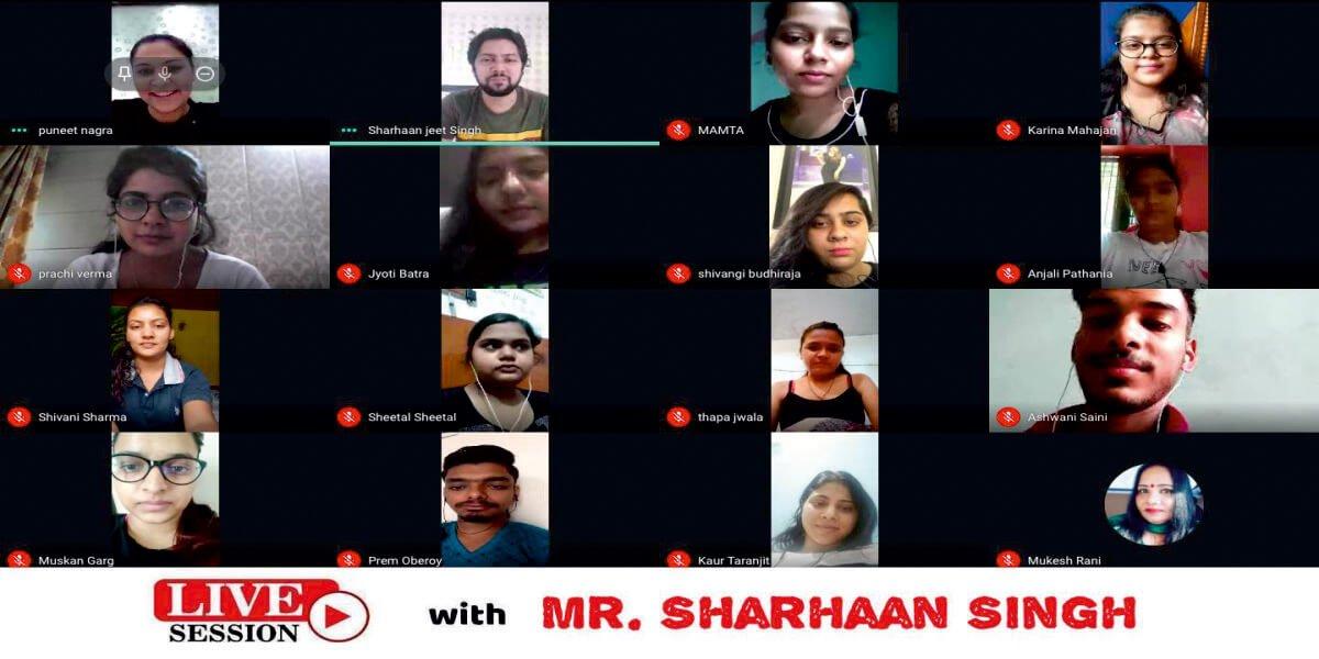 IIFD Talks With Sharhaan Singh